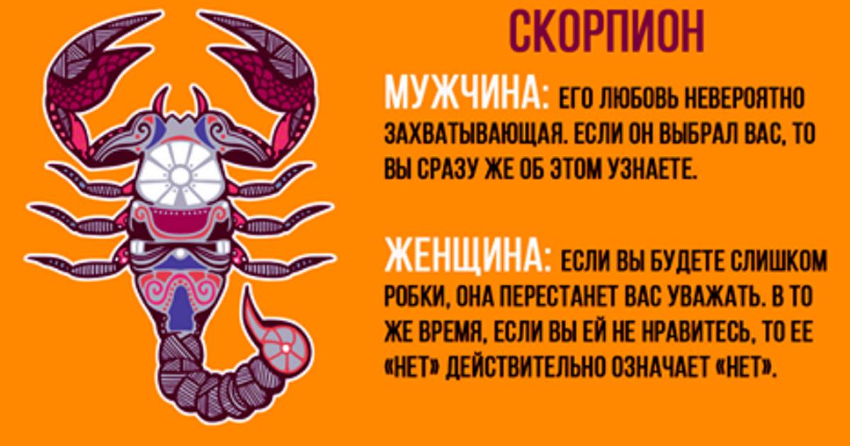 под знаком родившихся скорпиона характеристика