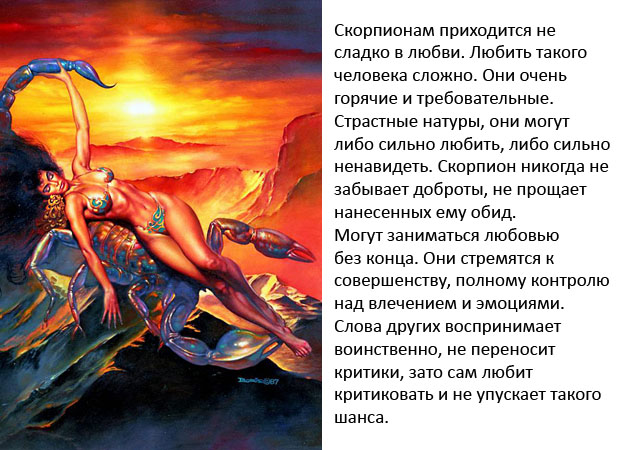 под родившегося зодиака скорпион характеристика знаком человека